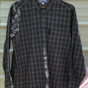 Columbia button down long sleeve shirt size Large